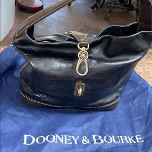 Dooney & Bourke leather hobo
